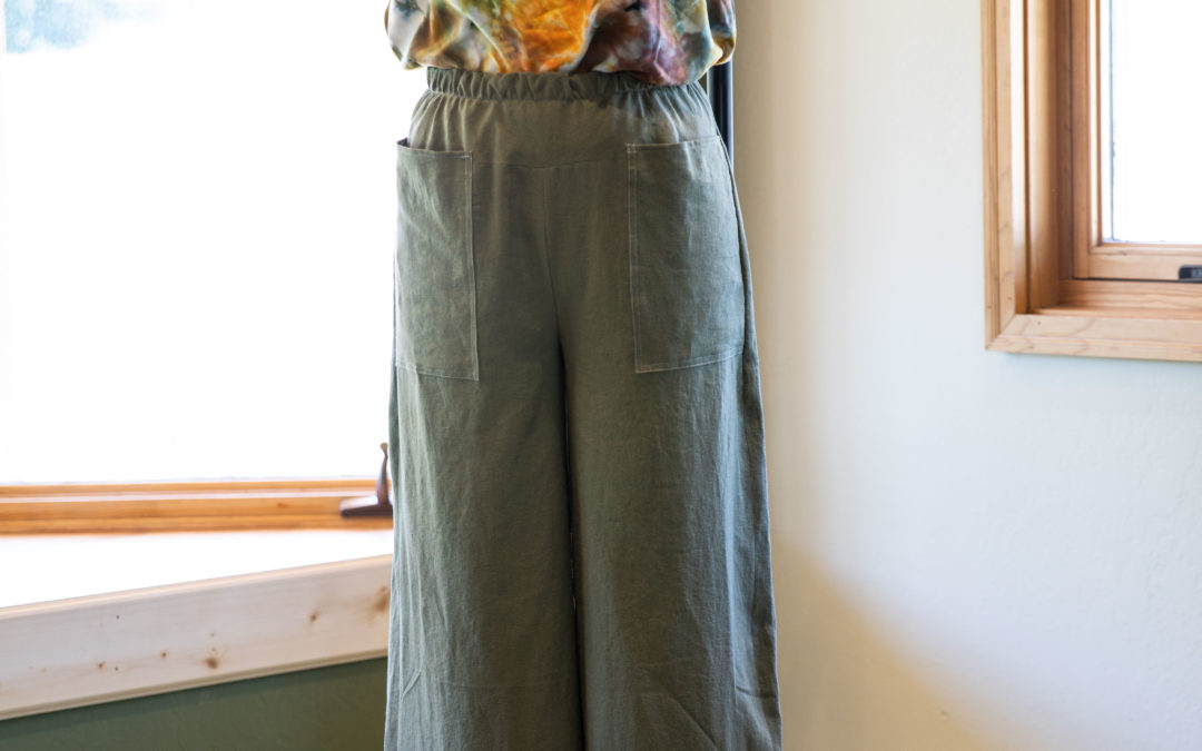 Want to create your own Bias Waist Palazzo Pants?